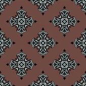 Vector inconsútil patrón alfombra azulejos — Vector de stock