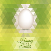Easter Egg mosaic background vector — ストックベクタ