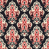 Luxury Damask seamles vector — Vetorial Stock