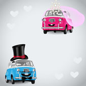 Two in Love Cartoons — Vetorial Stock