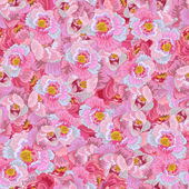 Pink Floral Background — Vector de stock