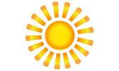 Sun in summer — Stock Photo