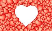 Heart background — Stock Vector