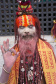 Sadhus — Stock Photo