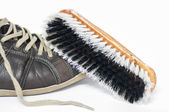 Shoe brush — Stock Photo