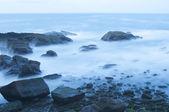 Mar de noche — Foto de Stock