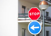 Traffic signs — Foto Stock