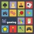 Icons for Gaming — Stock Vector #50949951