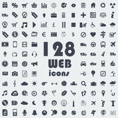Big collection of web icons — Stock Vector