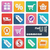 Icons for Commerce. — Stock Vector
