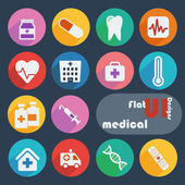 Icons for Medical — Stock Vector