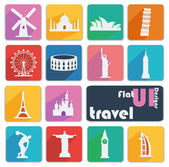 Icons for Travel. — Stock Vector