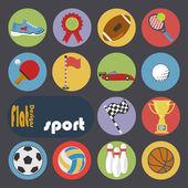 Icons for Sport. — Stock vektor
