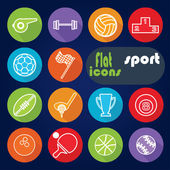 Icons for Sport. — Stock Vector