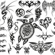 Tribal Tattoo Set. — Stock Vector #51128167