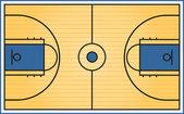 Basketball Court. — Wektor stockowy