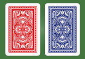 Playing Card Back Designs. — Stockvektor