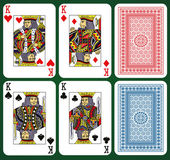 Four Kings. — Stock Vector