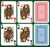 Four Queens — Stock Vector