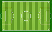 Soccer field — Stock Vector