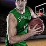 Brazilian Basketball player — Stock Photo