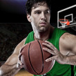 Brazilian Basketball player — Foto de Stock