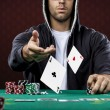 Poker Player — Foto de Stock