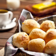 Brazilian cheese buns. — Stock Photo