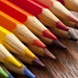 Colored pencils close-up. — Stock Photo
