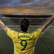 Brazilian soccer player — Stock Photo #26443095