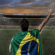 Brazilian soccer player — Stock Photo #26443131