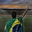 Brazilian soccer player — Stock Photo