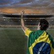 Brazilian soccer player — Stock Photo #26443257