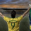 Brazilian soccer player — Stock Photo #26443487