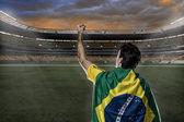 Brazilian soccer player — Stock Photo