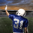 Stock Photo: Football Player