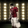Football Player — Stock Photo