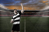 Rugby player — Stock Photo