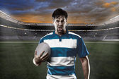 Rugby player — Foto Stock