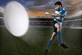 Rugbyspelare — Stockfoto