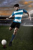 Rugbyspeler — Stockfoto