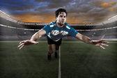 Gracz rugby — Zdjęcie stockowe