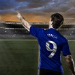 Italian soccer player — Stock Photo #40824151