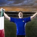 Italian soccer player — Stock Photo #40824343
