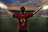 španělský fotbalista — Stock fotografie