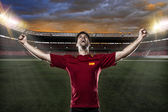 Spanish soccer player — Foto Stock