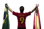 Spanish soccer player — Stock Photo