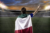 Italian soccer player — Stock Photo