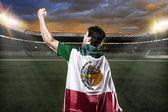 Futbolista mexicano — Foto de Stock