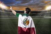 メキシコのサッカー選手 — ストック写真